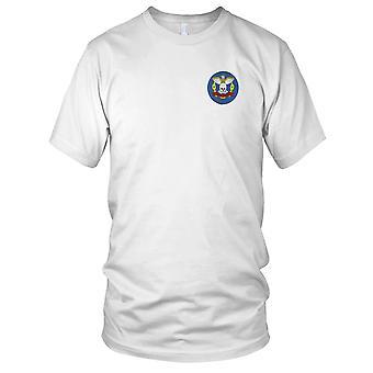 US Navy USS Kidd DD-661 Skull Embroidered Patch - Kids T Shirt