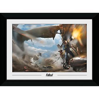 Fallout Vertibird Collector Print 50x70cm