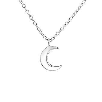 Halvmånen - 925 Sterling Sølv Plain halskæder - W22017X
