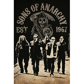 Sons of Anarchy - Reaper equipaggio Poster Poster Print