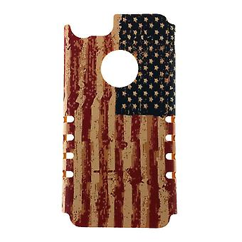 Distressed USA flagg