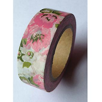 Washi Tape 20Mm X 10M Antique Floral Lmt20x10 644