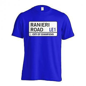 Ranieri Road - Ulica Leicester T-Shirt (niebieski)
