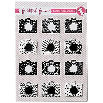 Freckled Fawn Puffy Stickers-Cameras SEPPS