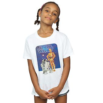 Star Wars Girls R2-D2 And C-3PO T-Shirt