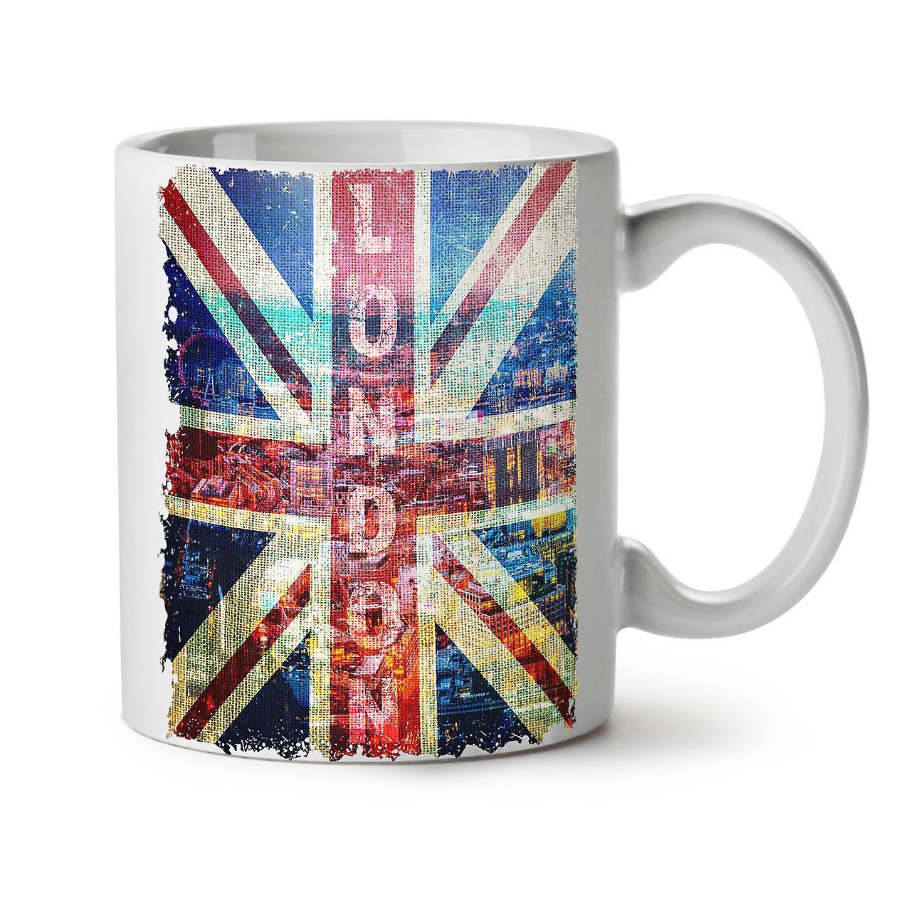 Blanc Londres Céramique OzWellcoda 11 Angleterre Nouveau Tasse Art Thé Café w8vNnOm0