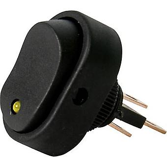 Car toggle switch 12 V 16 A 1 x Off/On latch HP Au