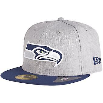 New era 59Fifty Cap - grey HEATHER-Seattle Seahawks