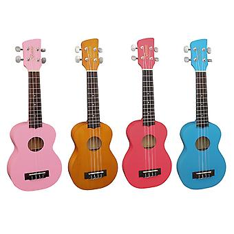 Brunswick Soprano Ukulele with Aquila Strings - Available in Natural finish, Red, Blue