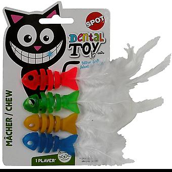 Agrobiothers Dental Health Chew Fish Cat Toy (Cats , Toys , Plush & Feather Toys)