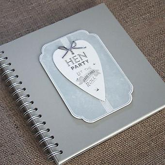 East of India 'Hen Party' - Guest Book - Album / Keepsake - 'Let the good times roll'