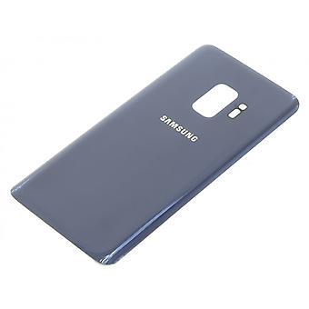 Para la batería de Samsung Galaxy S9 vidrio trasero cubierta cubierta azul