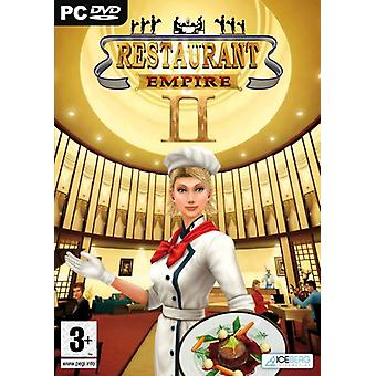 Restaurant Empire II (PC DVD)