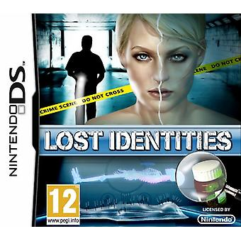 Lost Identities (Nintendo DS) - Factory Sealed