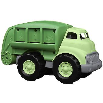 Groen speelgoed Recycle Truck met Movable Recycling Bed BPA vrije 100% gerecycled