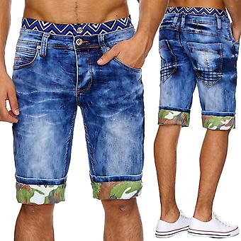 Men's Jeans Shorts Short Pants Boxer Style Denim Summer W29 - W38