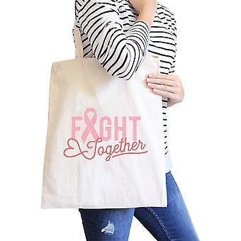 Kjempe sammen naturlig tunge bomull søt grafisk Canvas Bag gaver