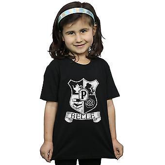 Disney Princess Girls Belle Crest T-Shirt