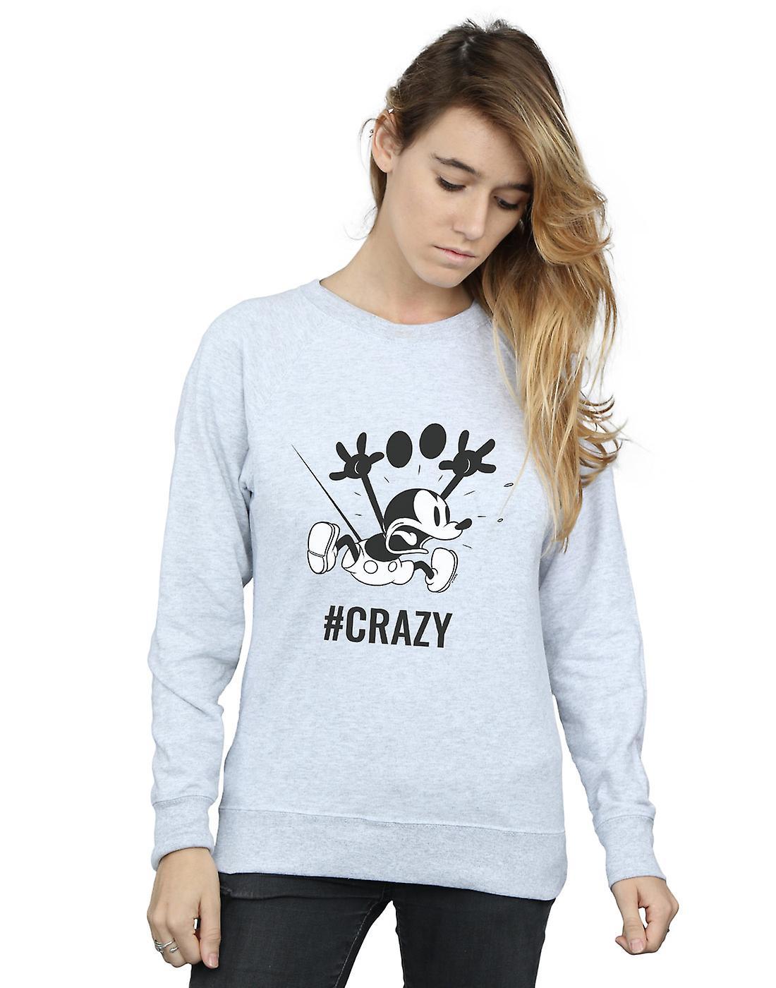 Sweat-shirt Mickey Mouse  Crazy Disney féminin