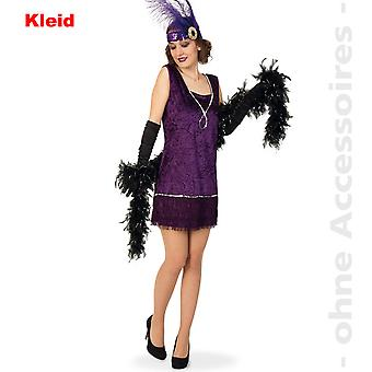 20's Charleston Lady costume dress costume ladies fringe dress