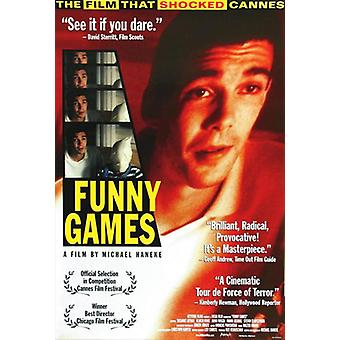 Funny Games Movie Poster (11 x 17)