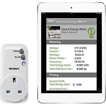 VOLTCRAFT SEM-3600BT-UK Energy consumption meter Bluetooth interface, GUI, Internet connectivity
