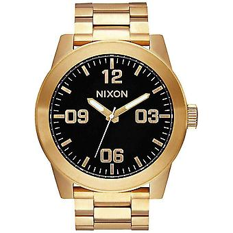 Nixon The Corporal SS Watch - Gold/Black
