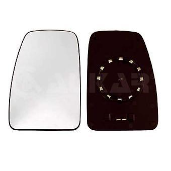 Left Mirror Glass (Heated) & Holder for Opel MOVANO van 2003-2010