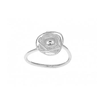 Cavendish French Sterling Silver Nested Ball Ring