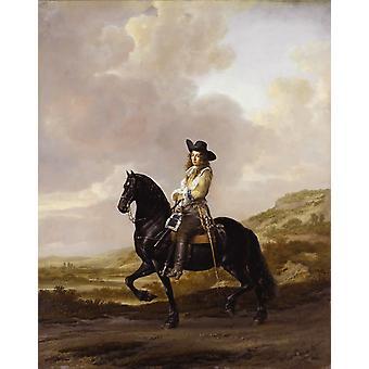 صورة الفروسية لبيتر سكوت، توماس دي كيسر، 50x40cm