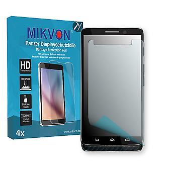 Motorola XT1030 Screen Protector - Mikvon Armor Screen Protector (Retail Package with accessories)
