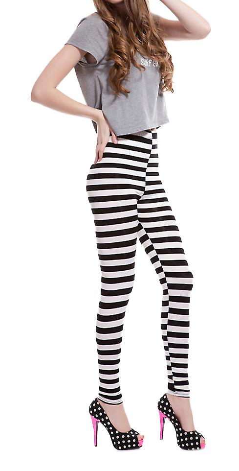 Waooh - Fashion - Legging with horizontal stripes