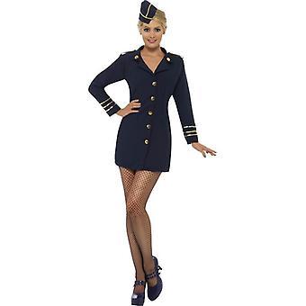 Flight Attendant Costume, UK Dress 12-14