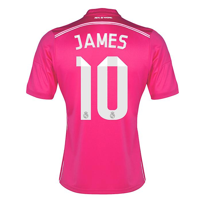 2014-15 Real Madrid Away Shirt (James 10)