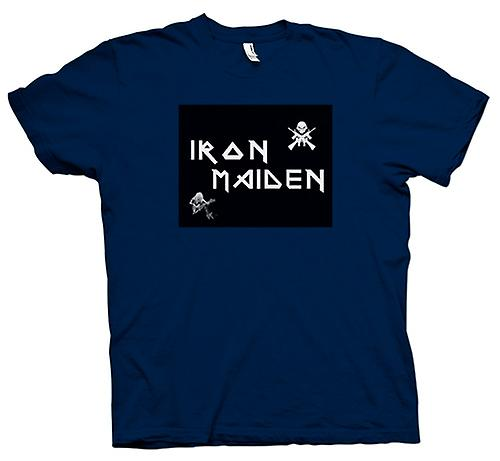 Hommes T-shirt - Iron Maiden - Eddie On Guitar