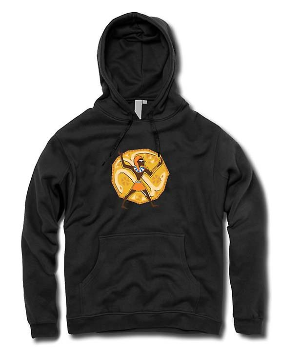Mens Hoodie - Ancient Egyptian Drawing Design