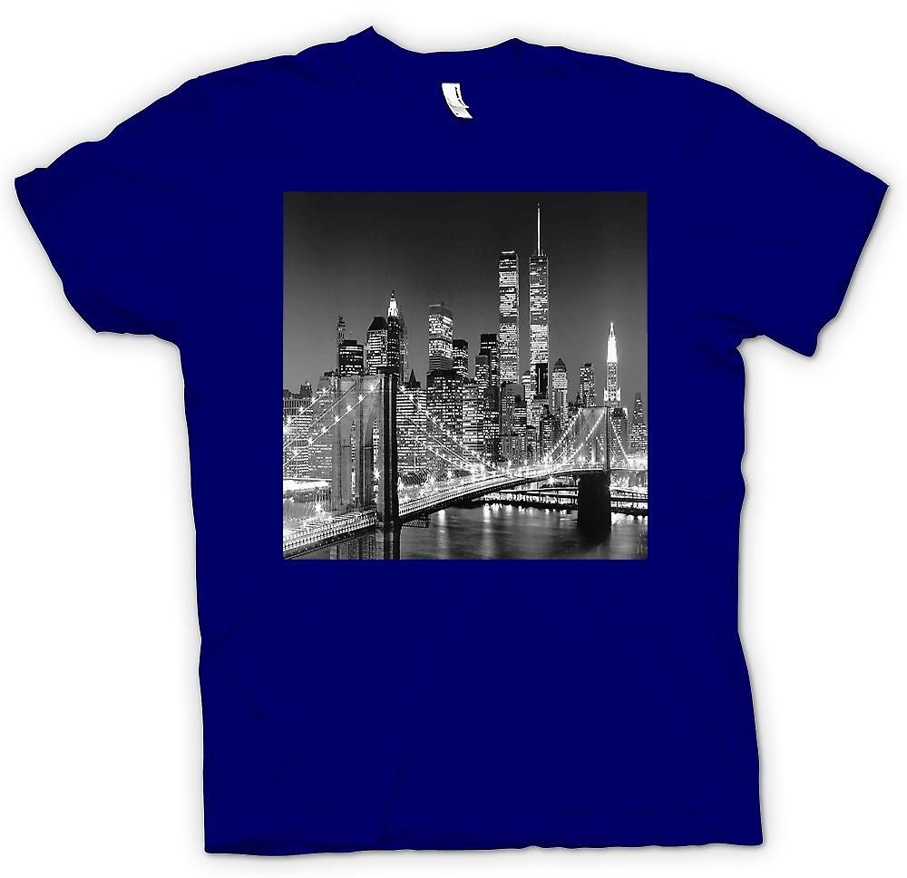 Herr T-shirt - New York Sky Line - Twin Towers