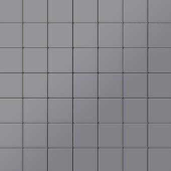 Metal mosaic Stainless Steel ALLOY Attica-S-S-MA