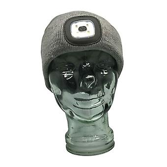 TechBrands Beanie w/ rechargeable LED Head Lamp