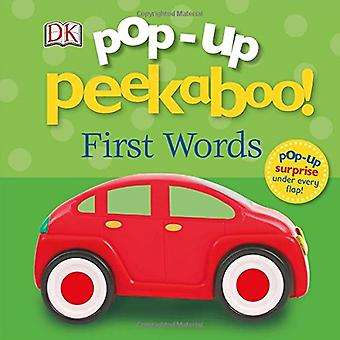 Pop Up Peekaboo! First Words (Pop-up Peekaboo) [Board book]