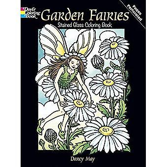 Garten Feen Glasmalerei Malbuch (Dover Glasmalerei Malbuch)