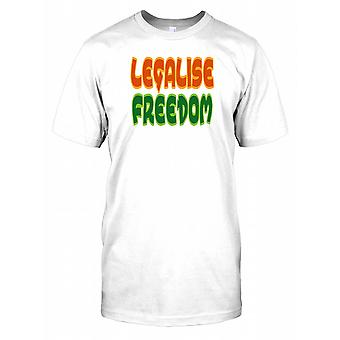Legalise Freedom - Conspiracy Mens T Shirt