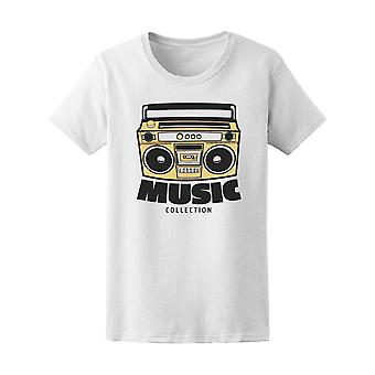 Tape Recorder Tee Men's -Image by Shutterstock