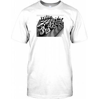 Sjakkbrett - Grand Master Kids T skjorte
