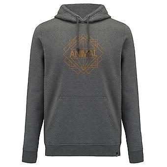 Animal Mens Late Hoodie