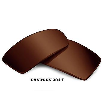 CANTEEN 2014 Replacement Lenses Bronze Brown by SEEK fits OAKLEY Sunglasses