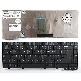 HP Compaq 8510W svart UK Layout erstatning bærbare tastatur