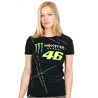 Valentino Rossi Monster Energy Black-Green Collection Monza Womens T-Shirt