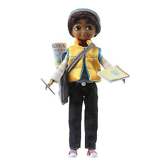 Lottie Doll Junior Reporter Sammi Figure with Outfit Accessories Set Hair