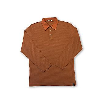 Agave Lux 'Taos' polo shirt in orange